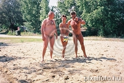 Nude volleyball camp with you