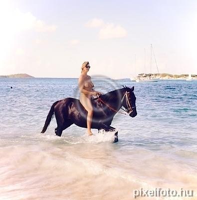 Horseback Riding Naturist Girls